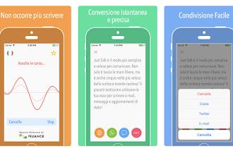 OGGI GRATIS: App da 10 €per convertire voce in testo, inviare messaggi e tradurre in 32 lingue