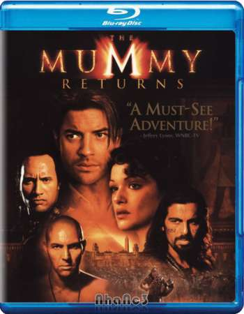 The Mummy Returns 2001 Dual Audio 350MB BRRip 480p