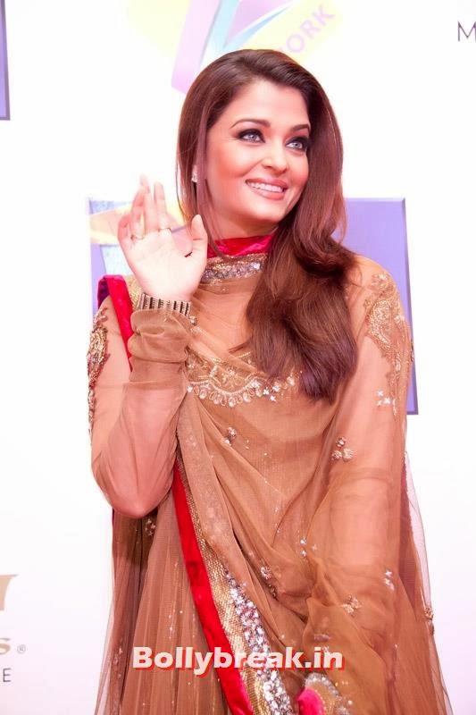 Aishwarya Rai Bachchan, Zee Cine Awards 2011-2013 Pics