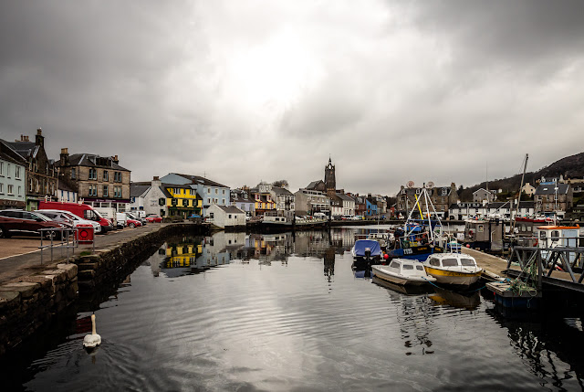 Photo of Tarbert harbour in Argyll, Scotland