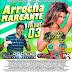 Cd (Mixado) Arrocha Marcante (Dj Fabrício Incomparável) Vol:03