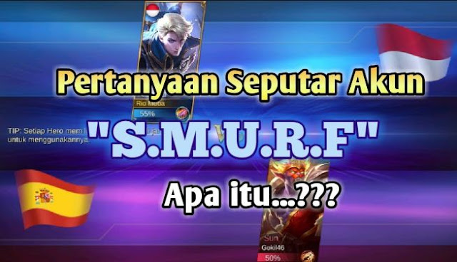 Akun Smurf Mobile legends itu apa?