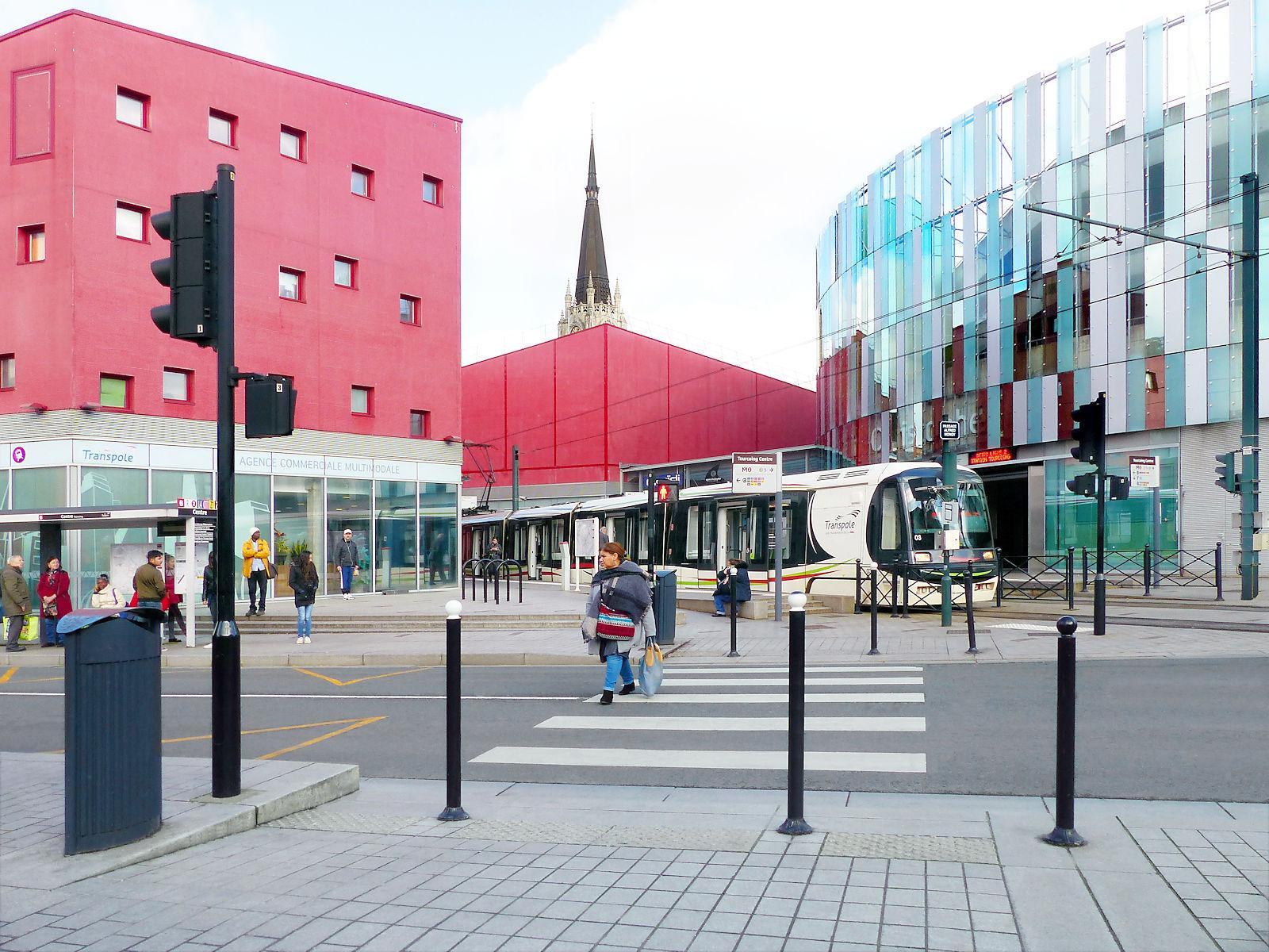"Tramway Tourcoing - Terminus ""Tourcoing Centre"""