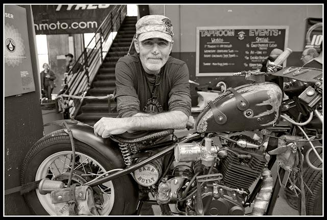 Garage Brewed Motorcycle Show; Motorcycles, Rheingeist Brewery; Cincinnati