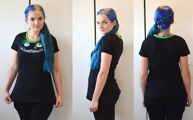 [Nähen] Von XXL zu M - T-Shirt Transformation