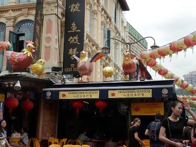 visite de Chinatown Singapour