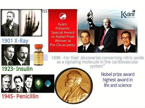 NOBEL AWARD for KYANI