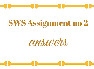 SWS assignment download now