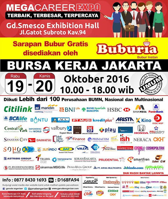 Mega Career Expo Jakarta