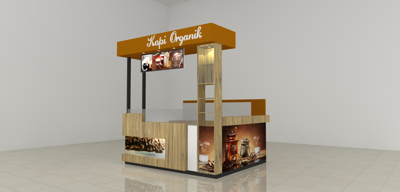 Booth Kopi Organik Hokibooth