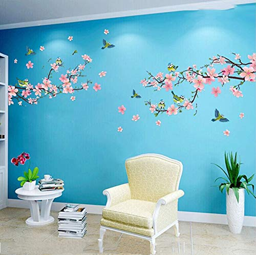 Wall Sticker Birds and Flowers