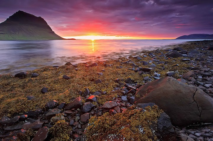 Grundarfjordur, Iceland | 10 Places to See Beautiful Sunset Around The World