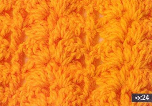 Patrón #1093: Punto Cerrado a Crochet