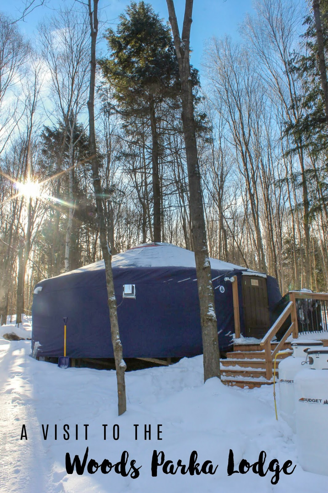 Woods Parka Lodge in Haliburton, Ontario