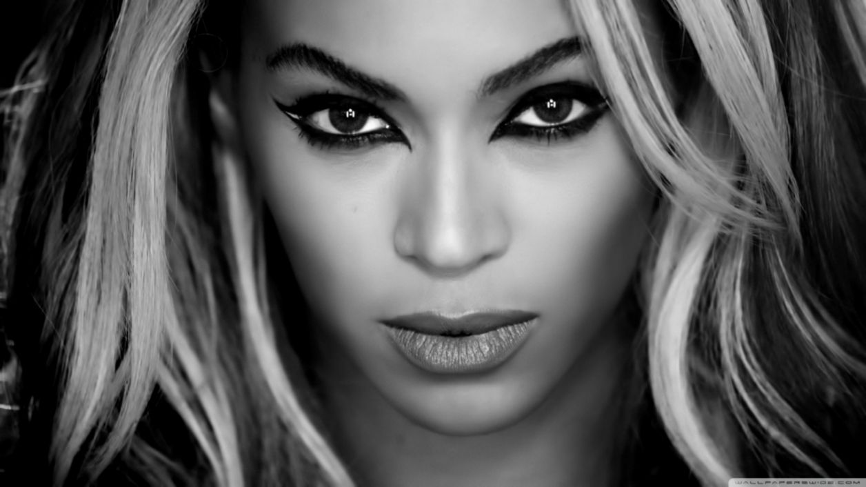Beyonce Superpower Black and White ❤ 4K HD Desktop Wallpaper for