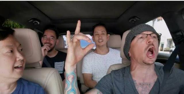 Chester မေသဆံုးခင္ ေျခာက္ရက္အလိုမွာ ႐ိုက္ကူးခဲ့တဲ့ Carpool Karaoke တီဗီအစီအစဥ္ကို ထုတ္လႊင့္