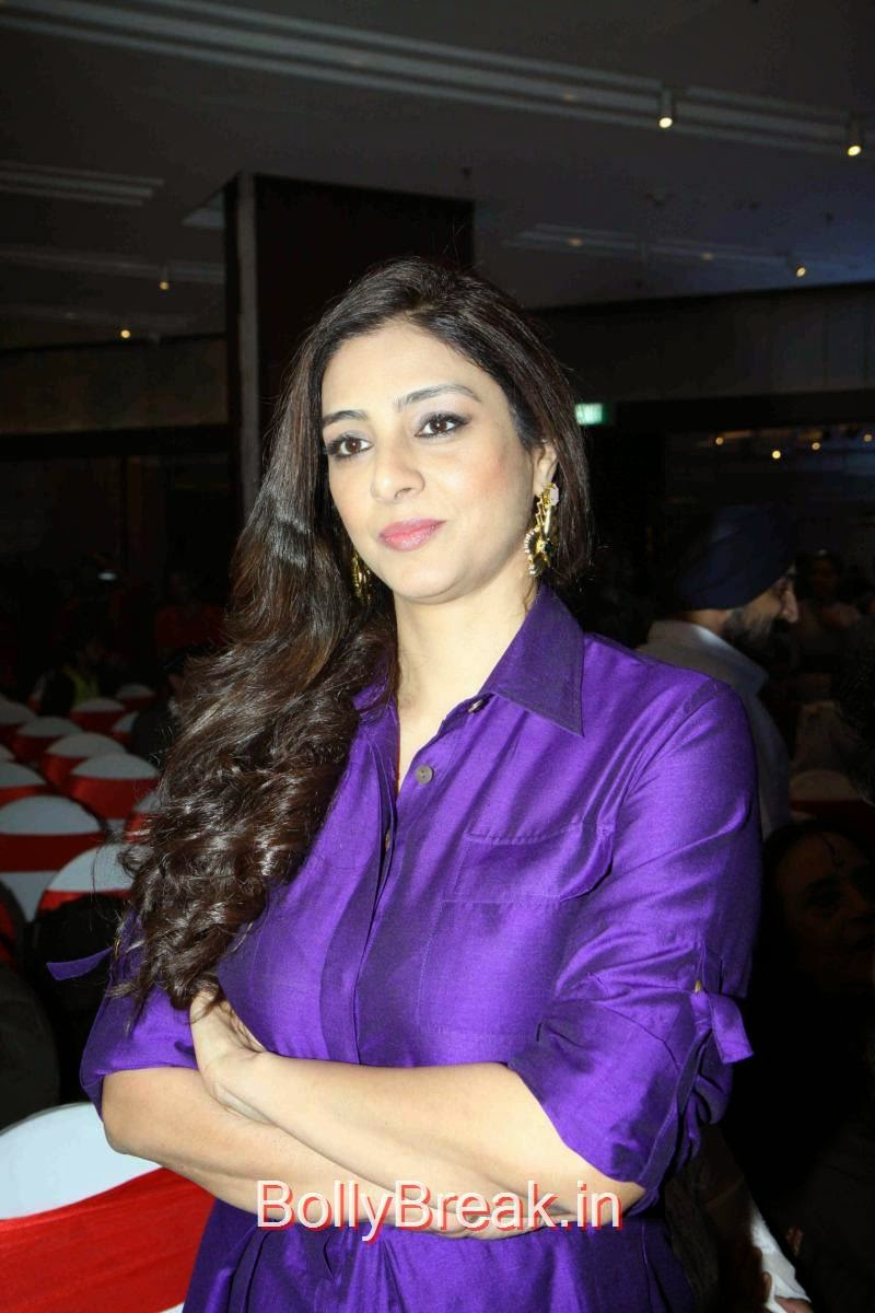 Bollywood Actress Tabu, Tabu Hot HD Images In Purple Dress from Aaarya Babbar Book Launch