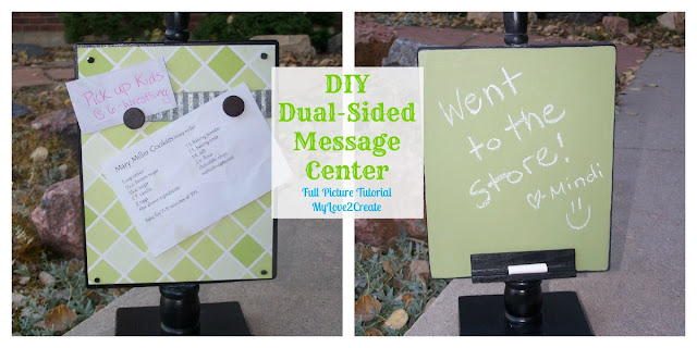 DIY message center