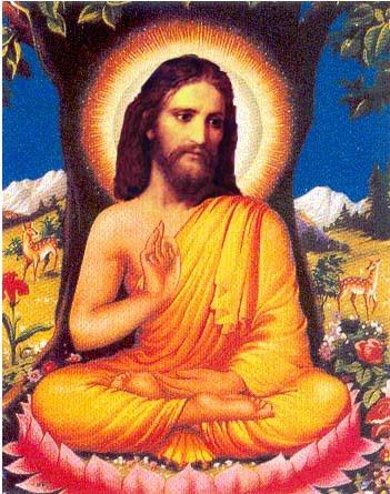 Jesus Buddhismus