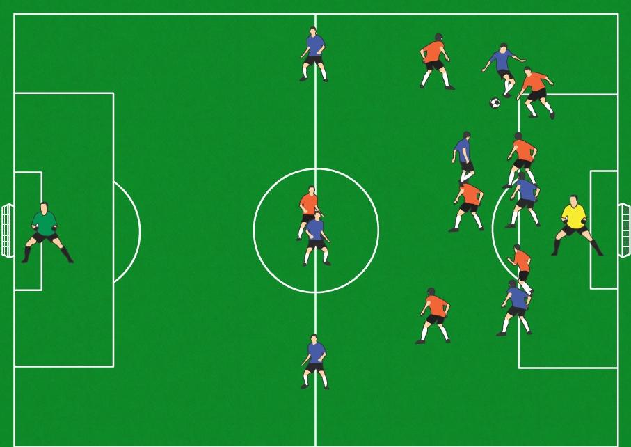 Goalgetters U11  8v8 Soccer Positions Explained  Forward