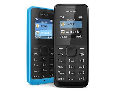 Nokia 105 Harga dan Spesifikasi