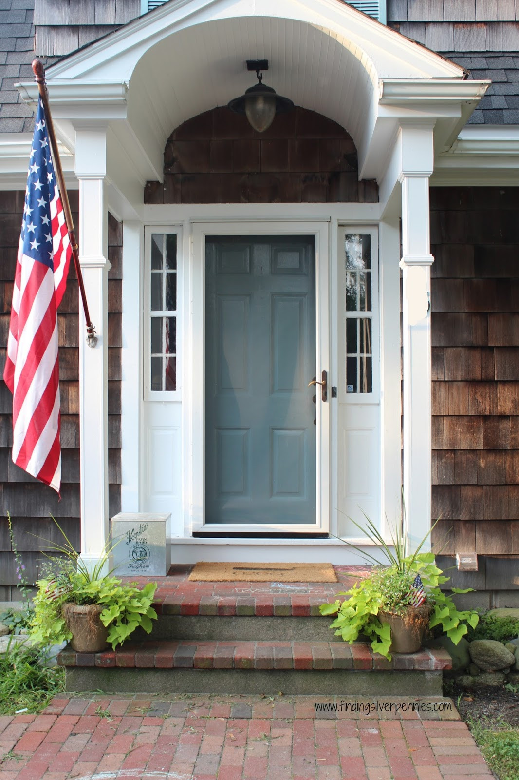 Outside door color finding silver pennies - Exterior doors that open to the outside ...