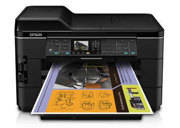 Epson WorkForce WF-7520 driver and review