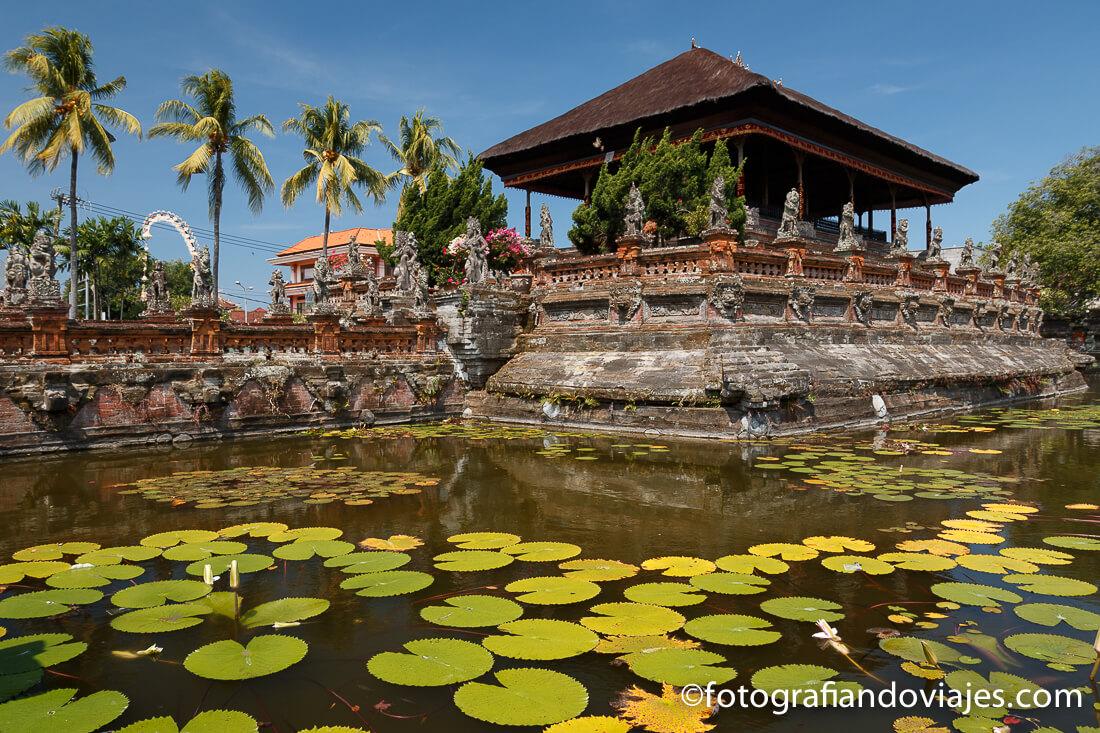 Palacio de justicia de Klungkung o Semarapura en Bali