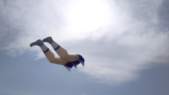 Glitch/Bug ou Montagem? Veja o que são essas pernas no céu