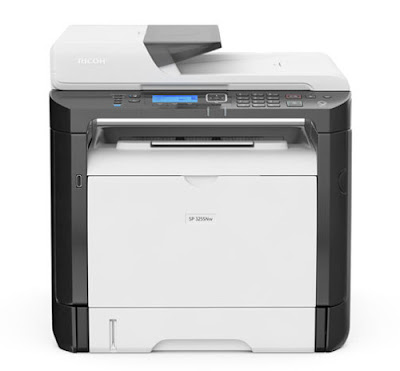 The scan business office is the trump carte that makes the Ricoh SP  Ricoh SP 325SNw Driver Download