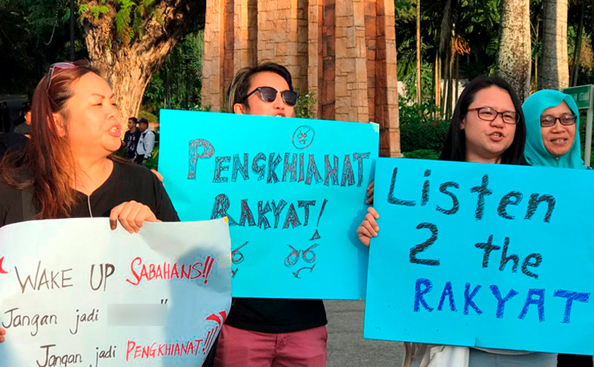Enggan Pedulikan Bantahan Dari Warga Sabah, Musa Aman Nekad Angkat Sumpah Sebagai KM Sabah