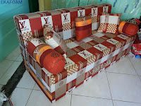 Sofa bed inoac new elve coklat