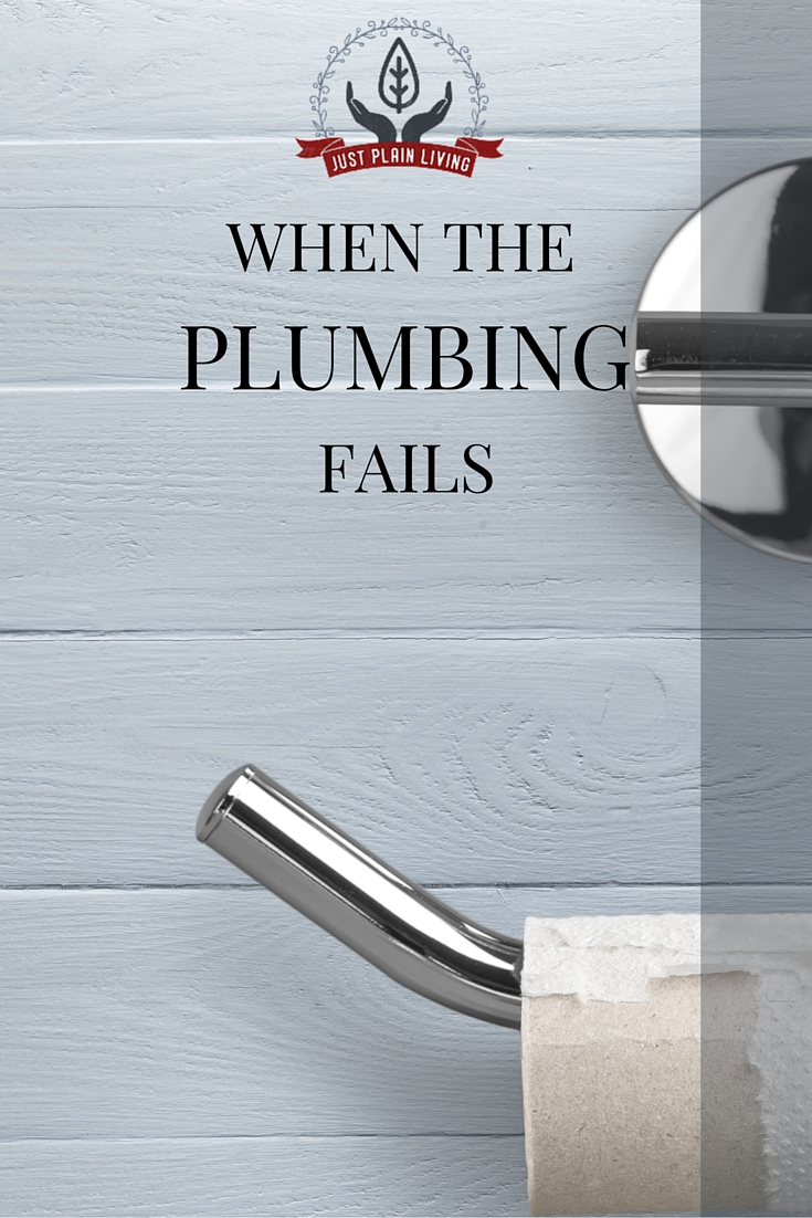 At some point, the faucets are dry and the toilet won't flush. Whether it's a backed up septic system or a problem with the water main, it happens. What to do?