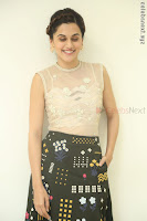 Taapsee Pannu in transparent top at Anando hma theatrical trailer launch ~  Exclusive 098.JPG