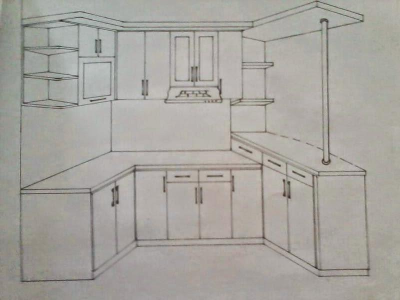 Gambar Dapur Jasa Kitchen Set Murah