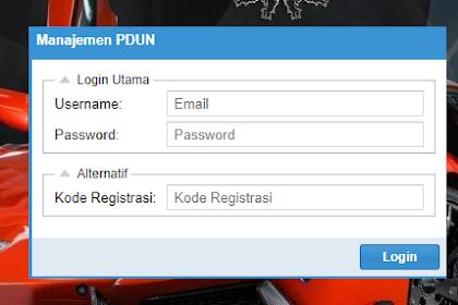 Cara Login PDUN 2019 Cek Data Peserta UN 2018/2019 http://pdun.data.kemdikbud.go.id/