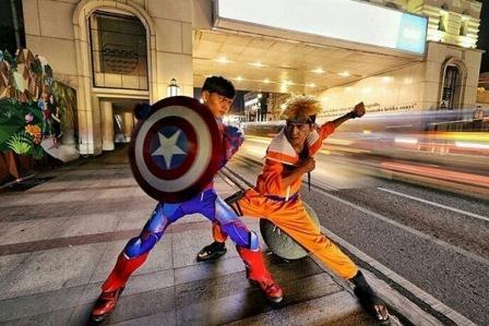 cosplay capten america