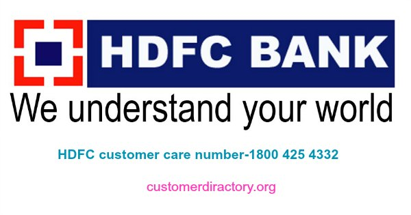 HDFC customer number details ,email id