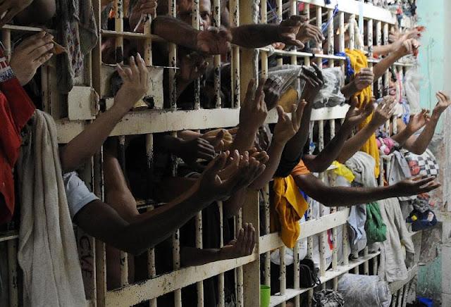 Menos presos no Brasil