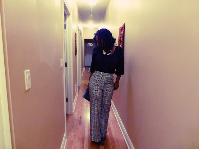 JC Penney vintage plaid pants
