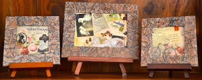 Mixed Media on Wooden Canvas @The Art of Creativity Studio