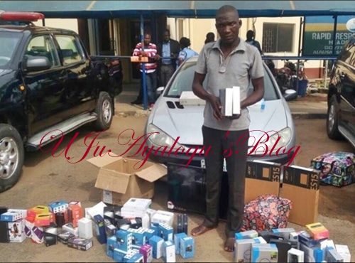 See the Slot Driver Who Absconded with N6m Worth of Goods Two Months After Being Employed (Photo)