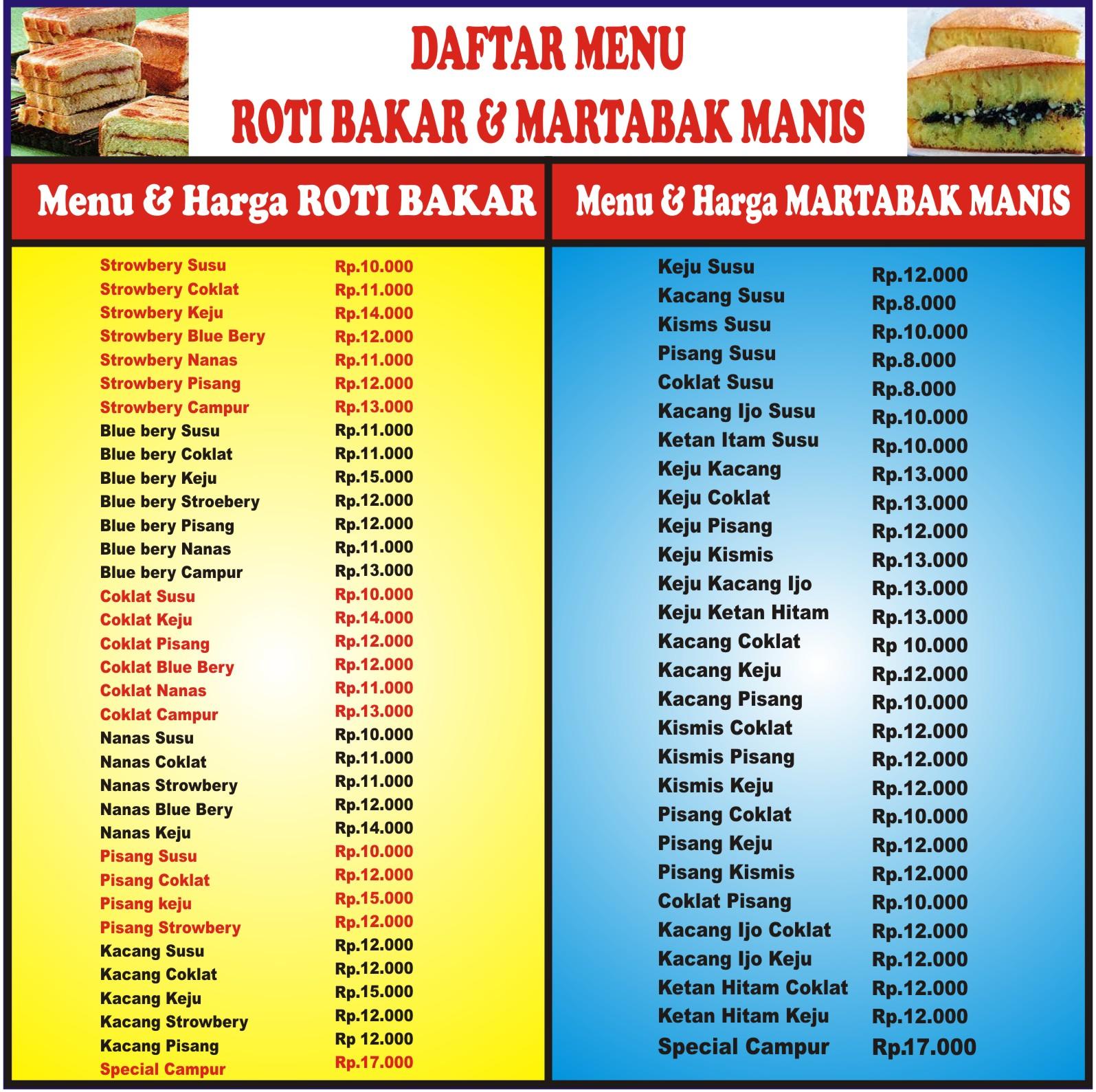 Contoh Daftar Menu Martabak.cdr