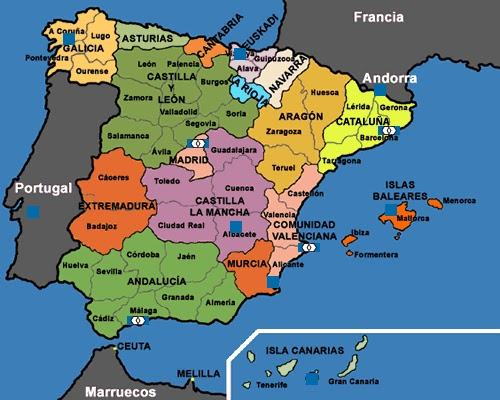 mapa galiza portugal CRÍTICA OU CRÔNICA ?: PORTUGALIZA – Um Grande Portugal mapa galiza portugal