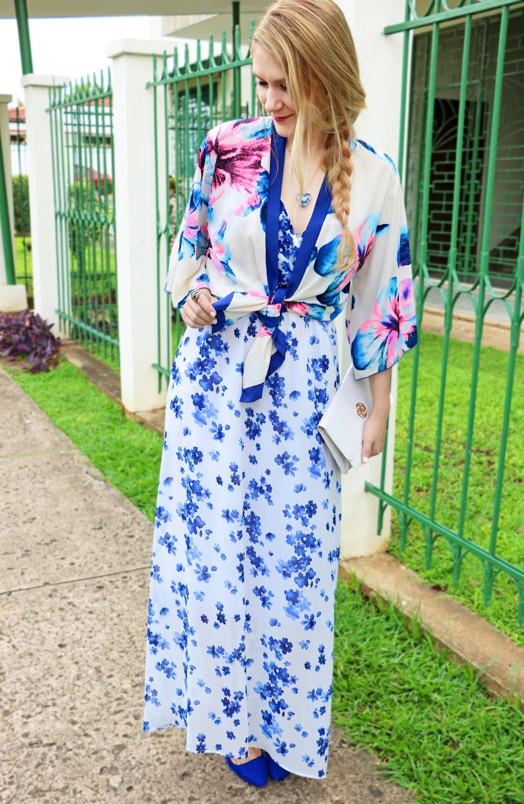 Mix two floral prints for one bold Spring outfit!