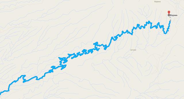 Últimos 30 kilómetros hasta Bajawa