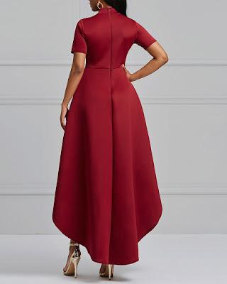 vestido rojo clásico de navidad