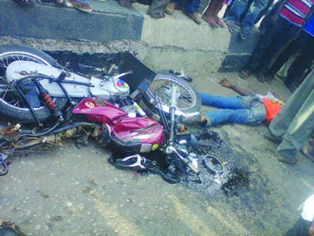 okada man chased to death