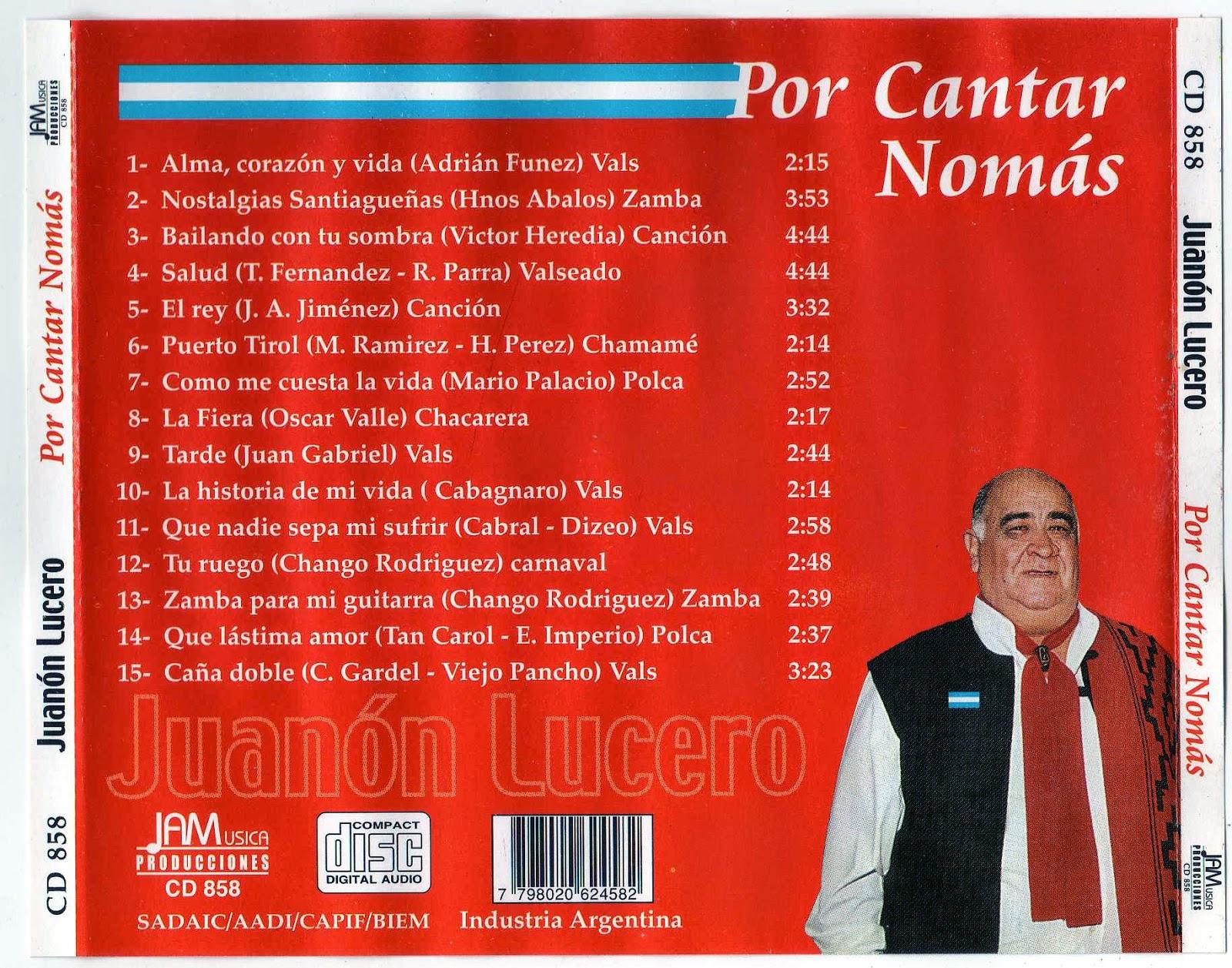 discografia juanon lucero