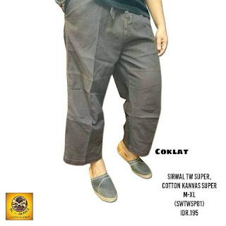 Celana Sirwal Yogyakarta, grosir sirwal jogja